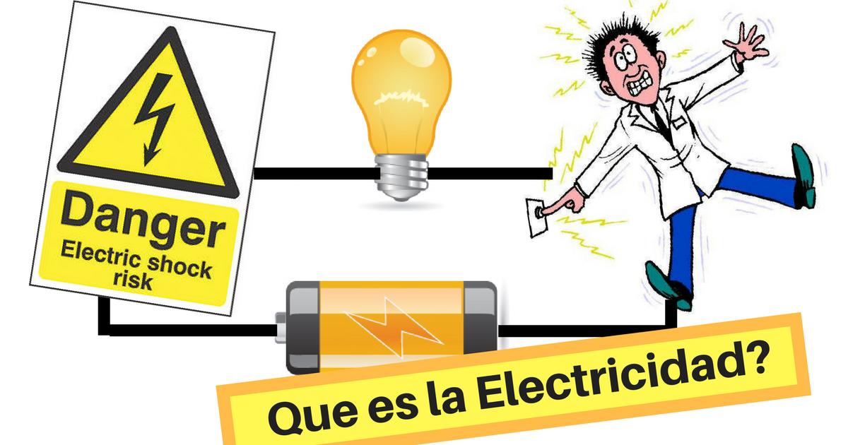 Que es la electricidad curso de robotica for Electricidad