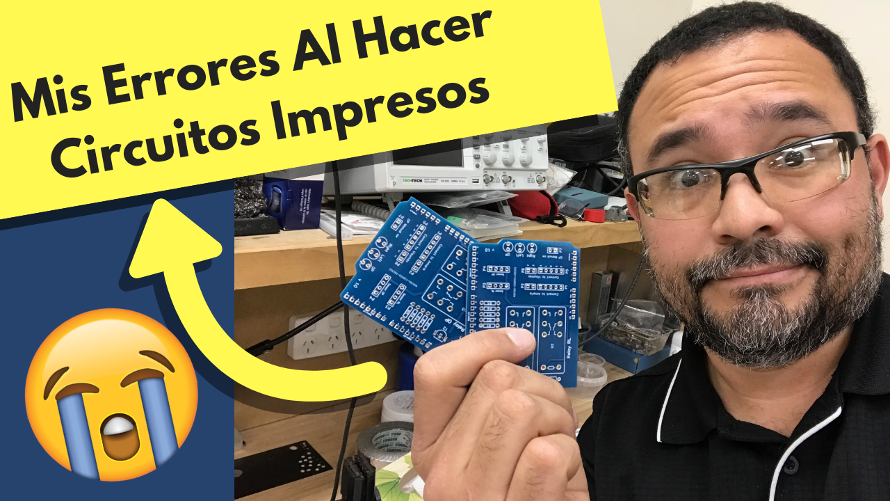 Mis Errores Al Hacer Circuitos Impresos Curso De Robotica